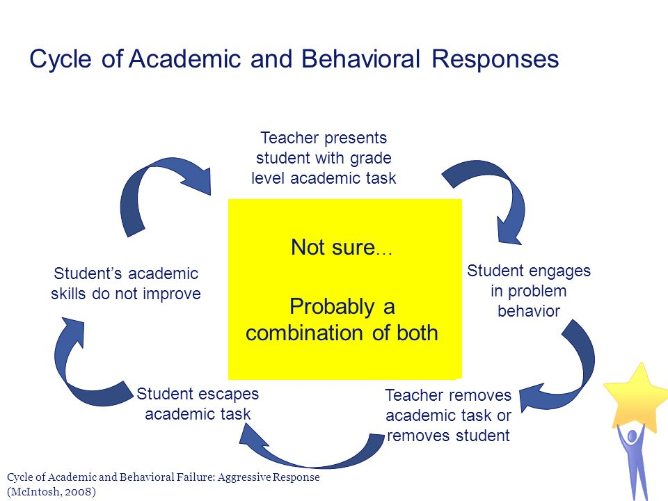 Cycle of Academic and Behavioral Responses