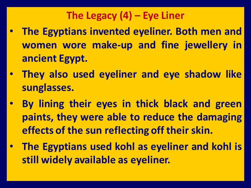 The Legacy (4) – Eye Liner