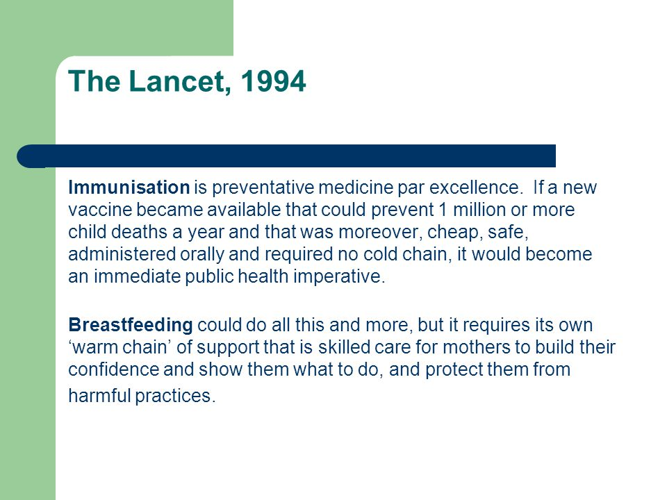 The Lancet, 1994