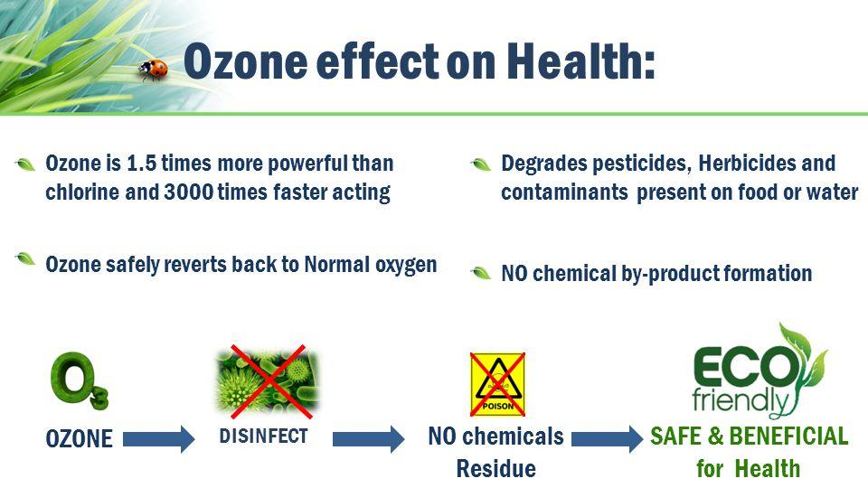 Ozone effect on Health: