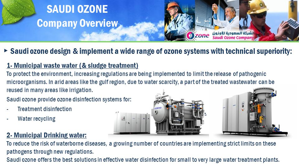 SAUDI OZONE Company Overview