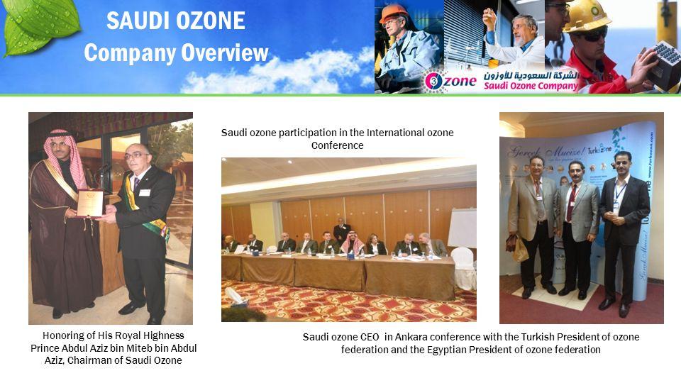 Saudi ozone participation in the International ozone Conference