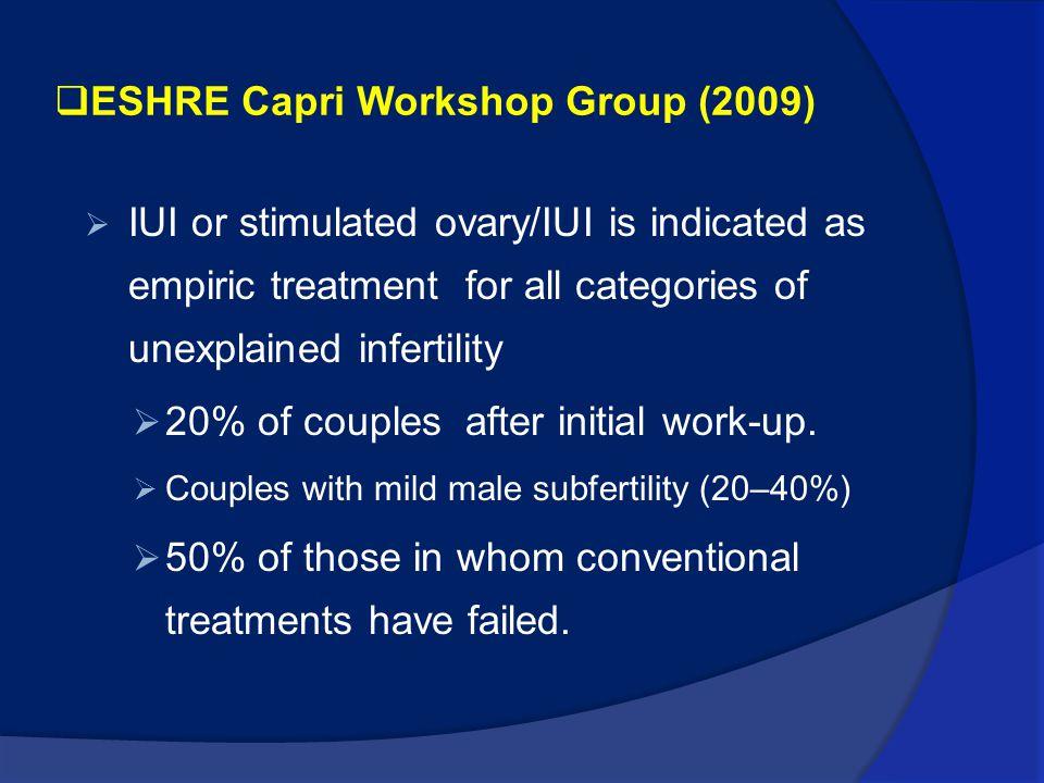 ESHRE Capri Workshop Group (2009)