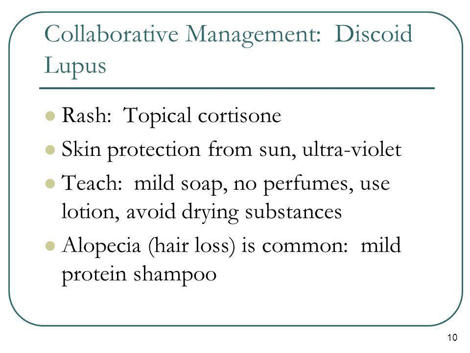 Collaborative Management: Discoid Lupus