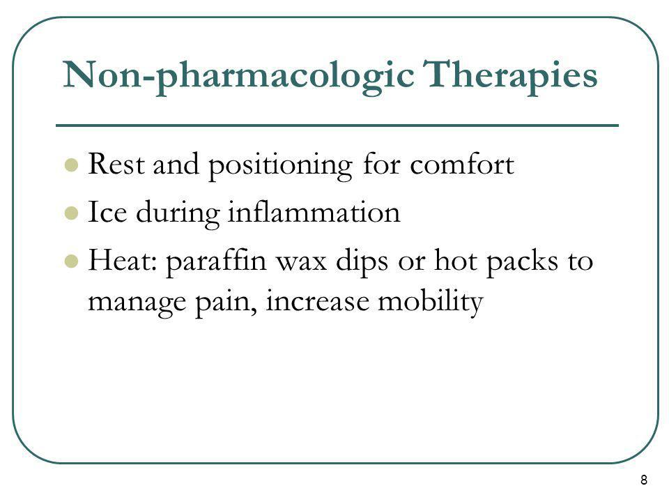Non-pharmacologic Therapies