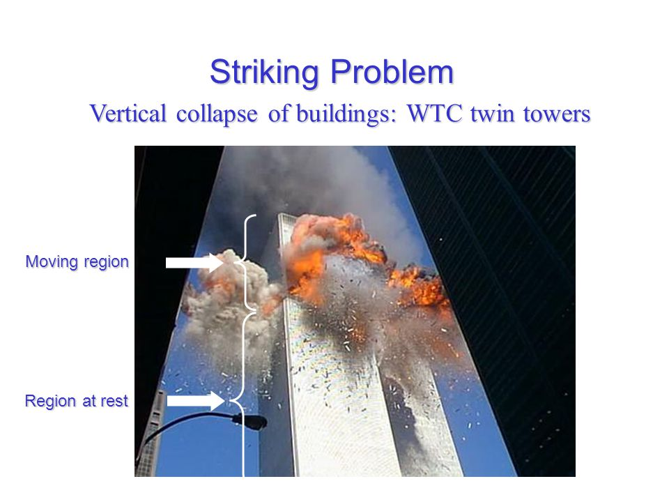 Vertical collapse of buildings: WTC twin towers