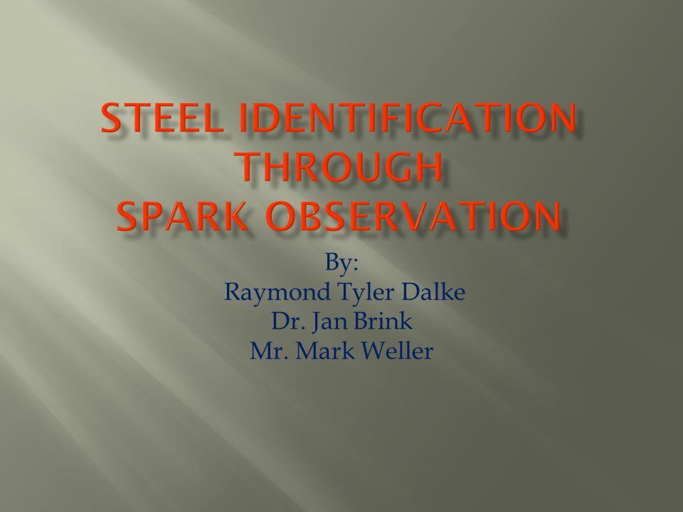 Steel Identification Through Spark Observation