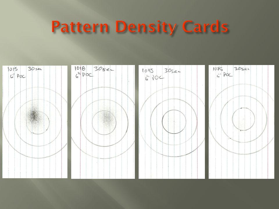 Pattern Density Cards