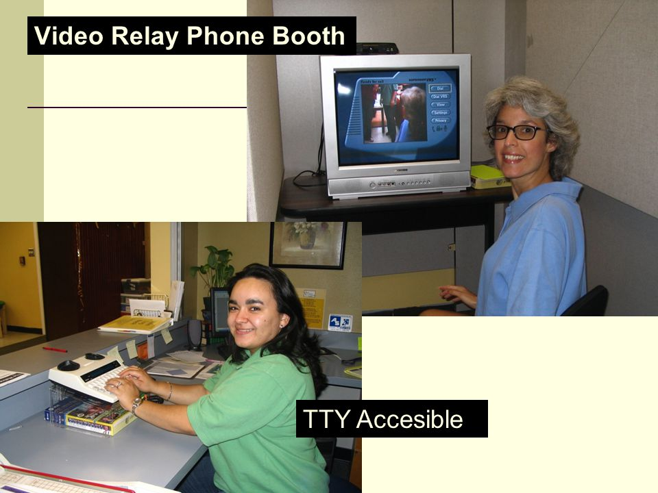 Video Relay Phone Booth