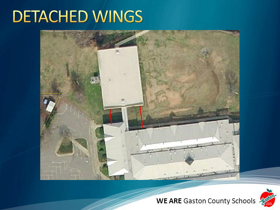 DETACHED WINGS WE ARE Gaston County Schools Still H. H. Beam.