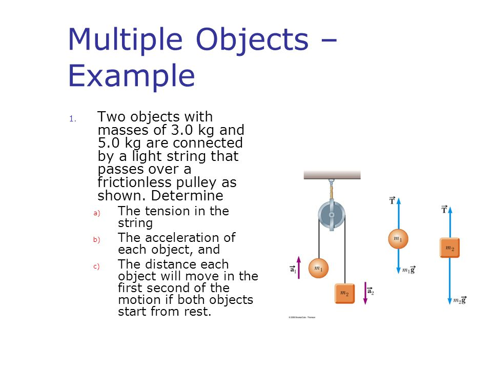 Multiple Objects – Example