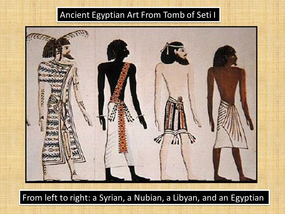 Ancient Egyptian Art From Tomb of Seti I