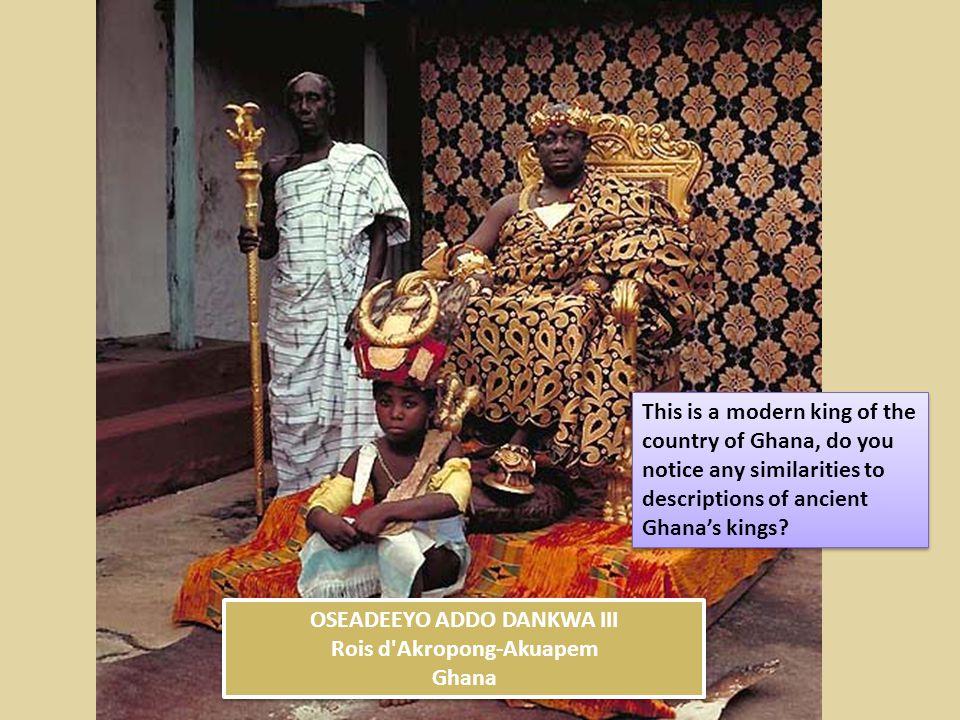 OSEADEEYO ADDO DANKWA III Rois d Akropong-Akuapem