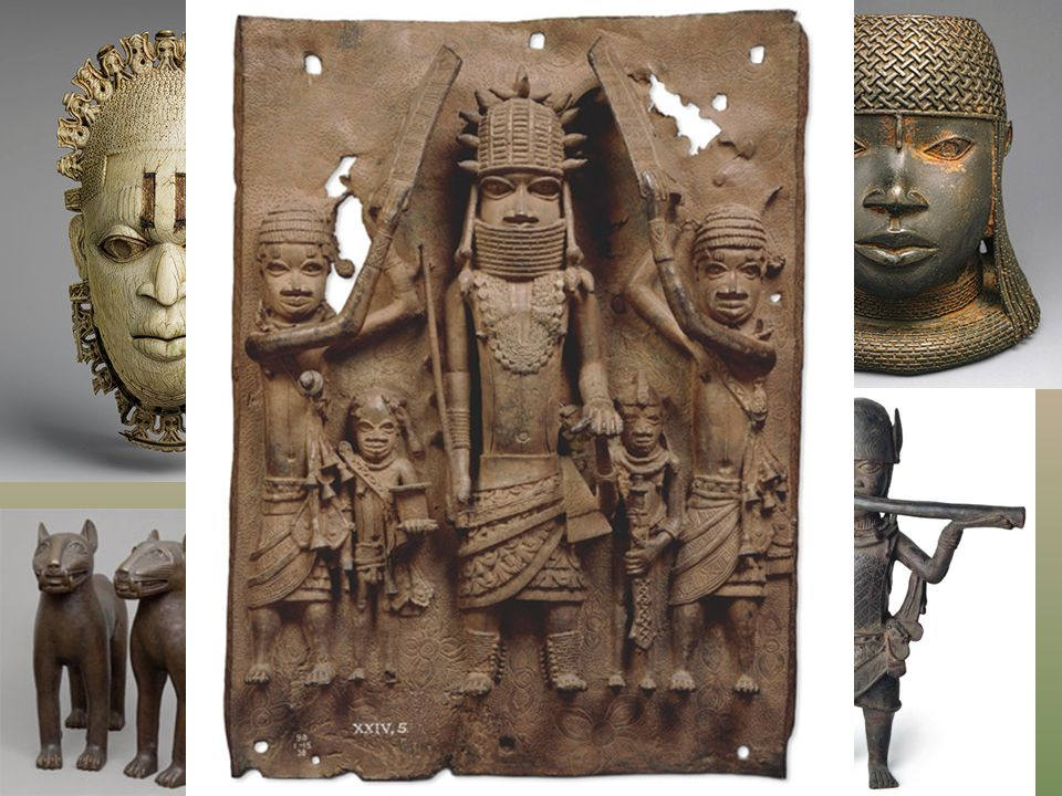 Benin is famous for its bronze and brass sculptures and art