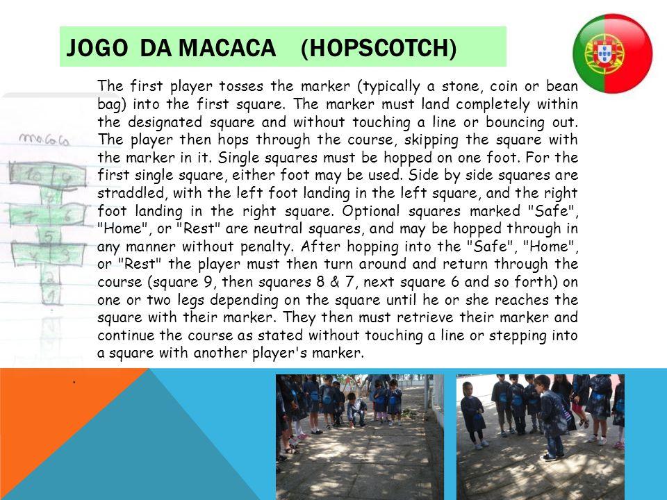 jogo da macaca (hopscotch)