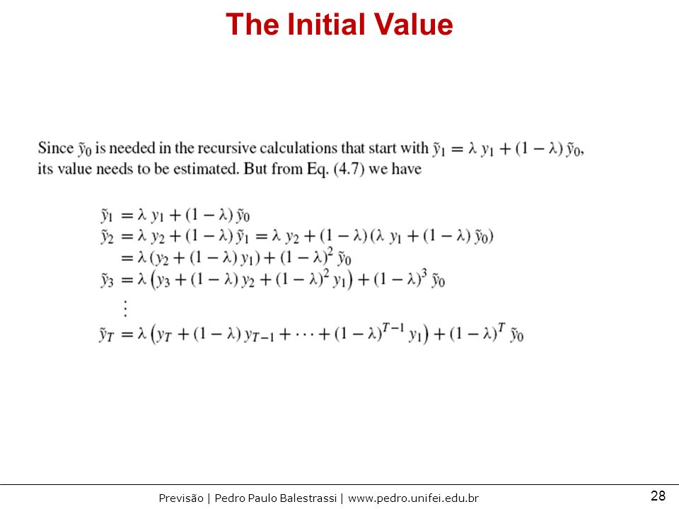 The Initial Value