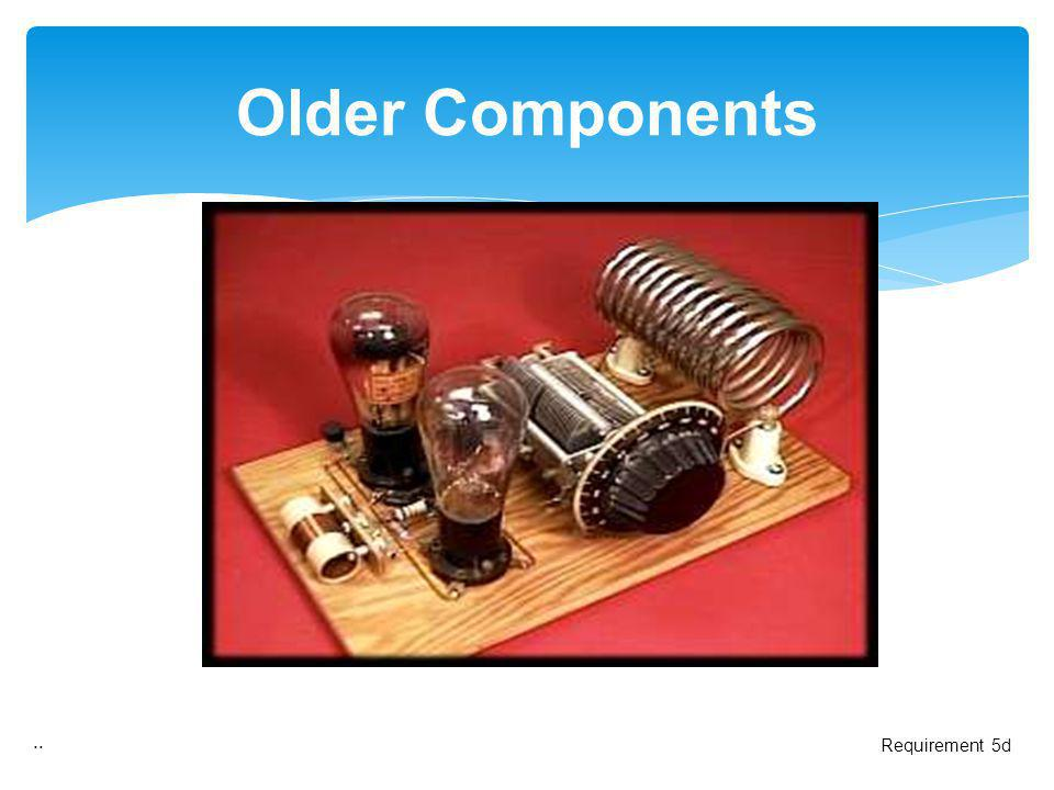 Older Components .. Requirement 5d