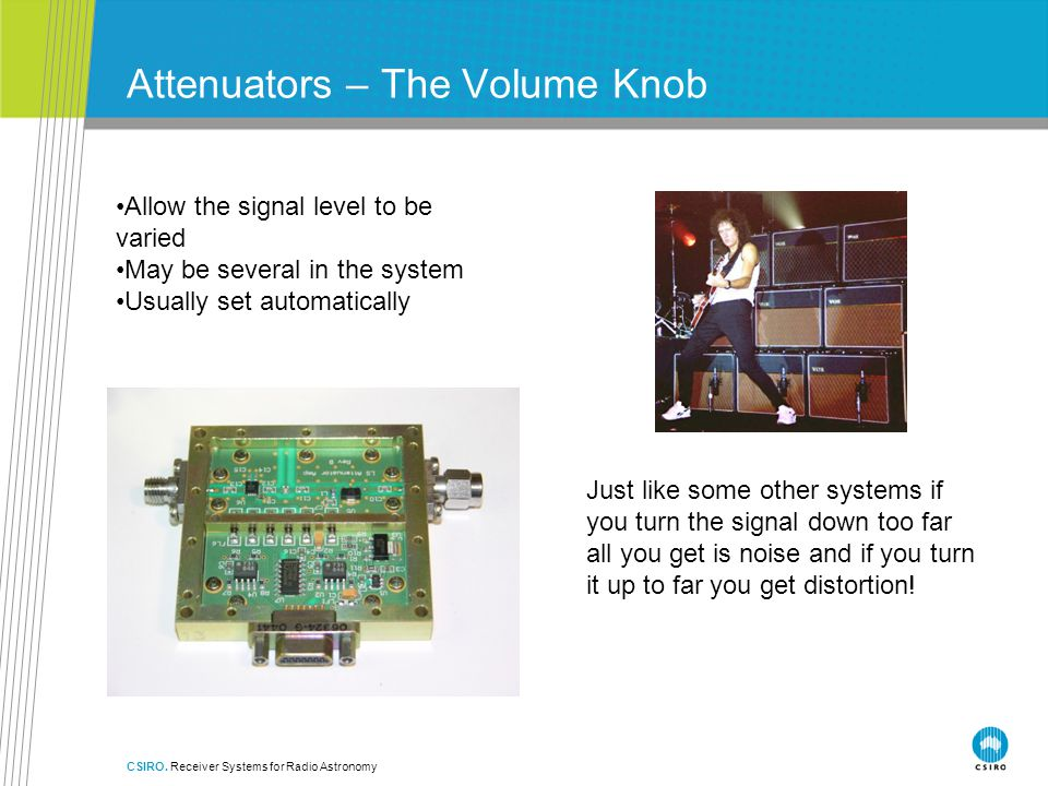 Attenuators – The Volume Knob