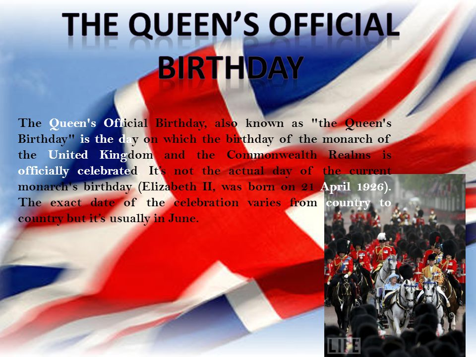 The Queen's Official Birthday