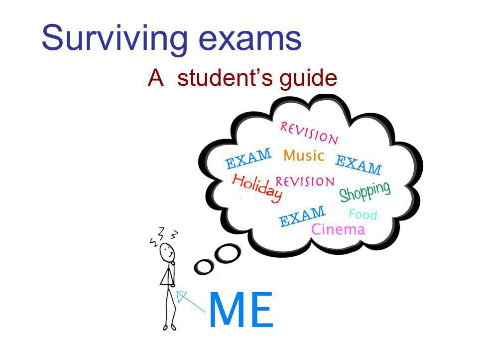 Surviving exams A student's guide