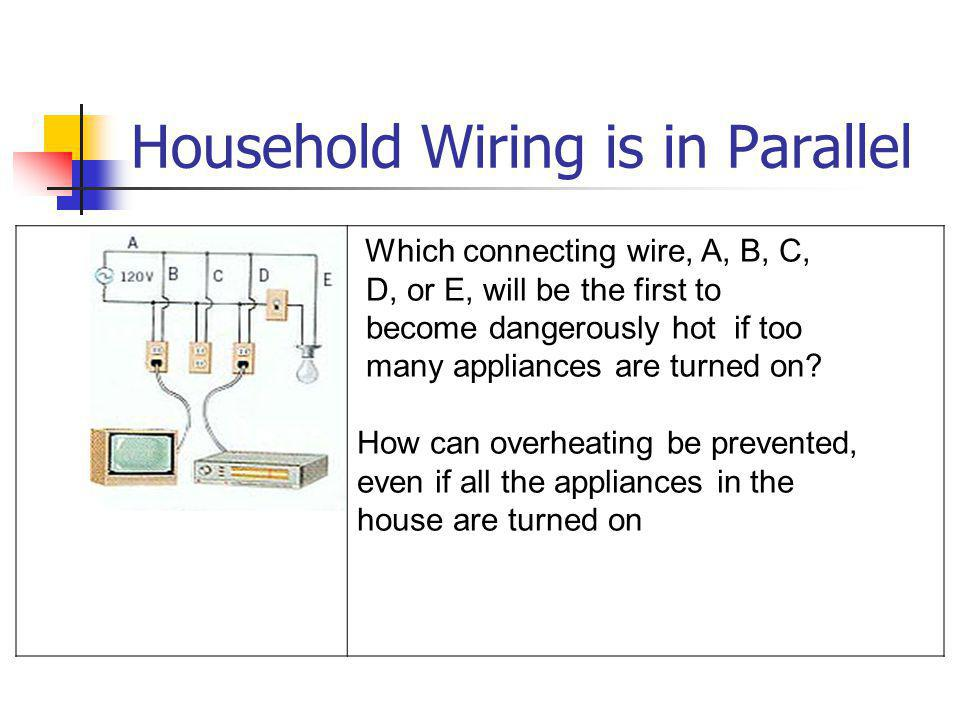 Household Wiring is in Parallel