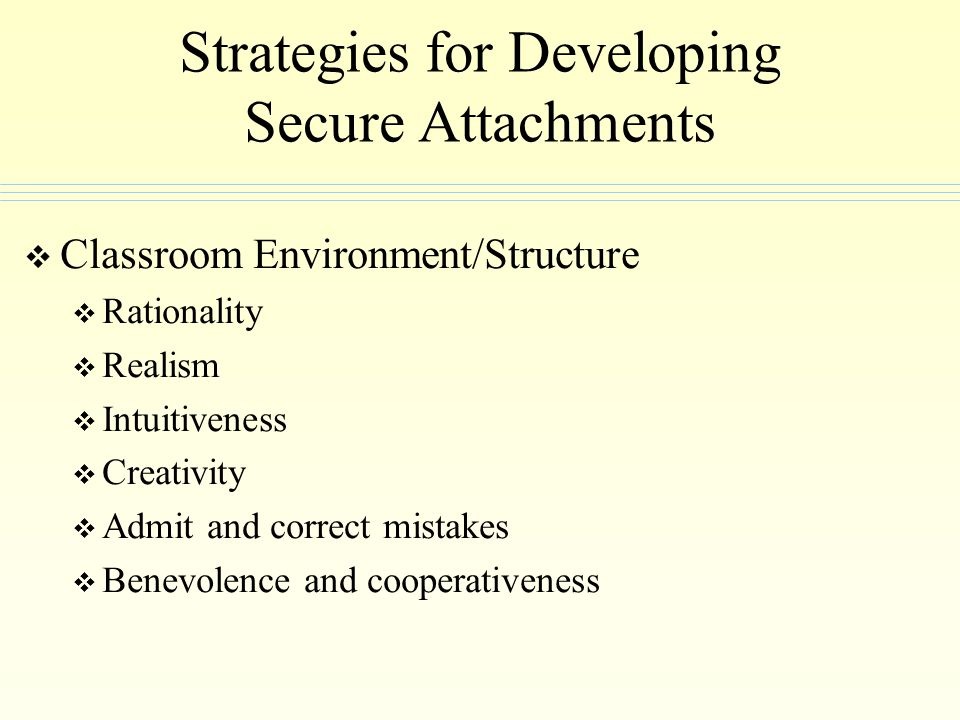 Strategies for Developing Secure Attachments