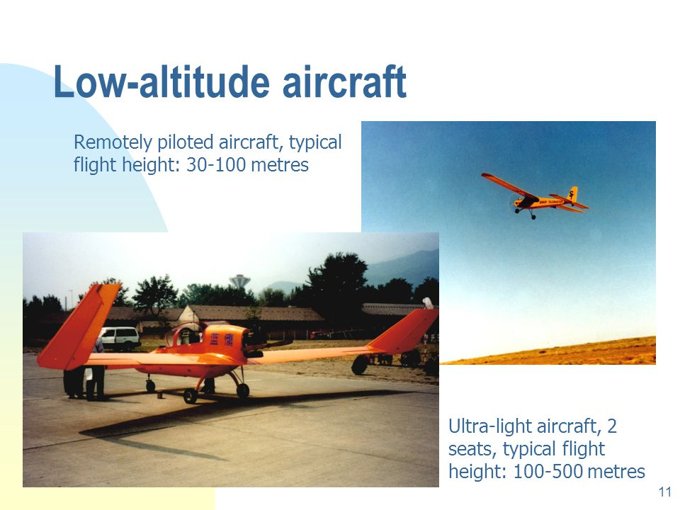 Low-altitude aircraft