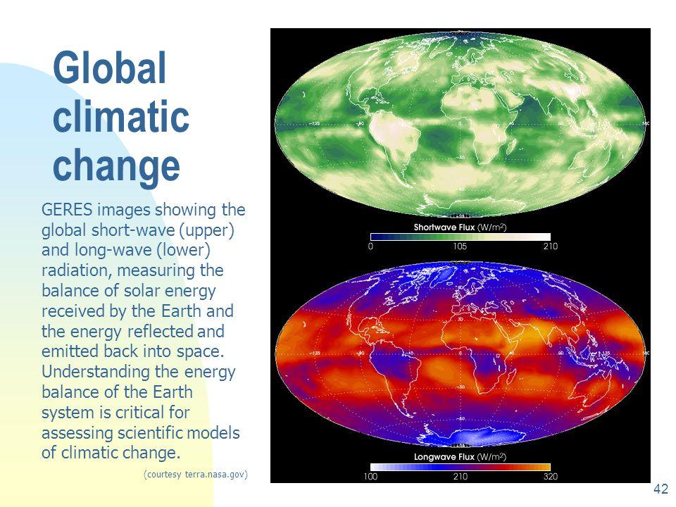 Global climatic change