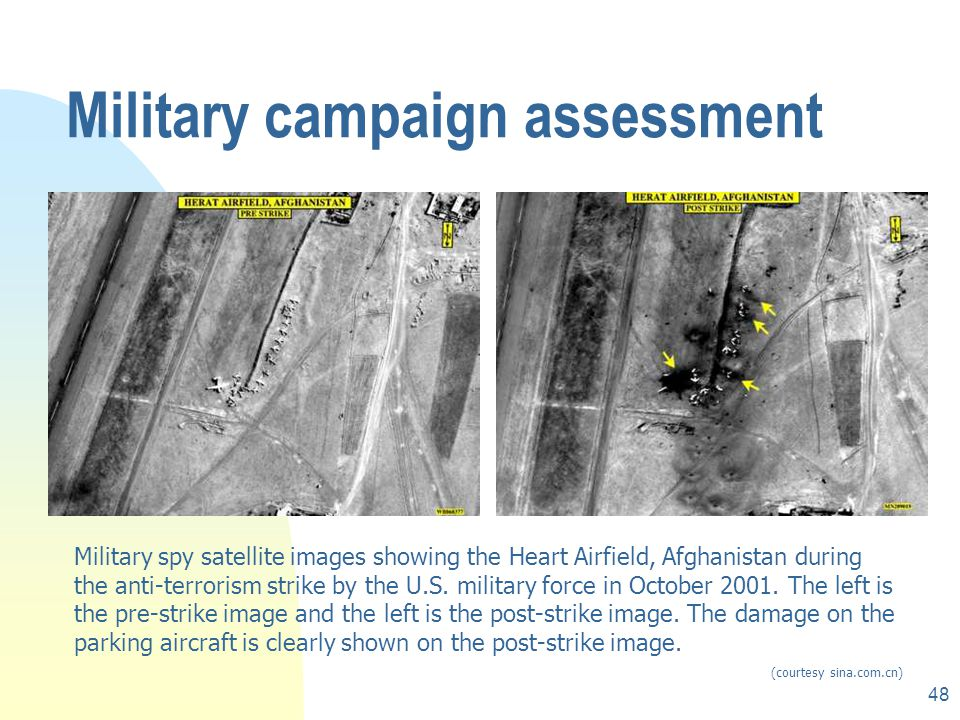 Military campaign assessment