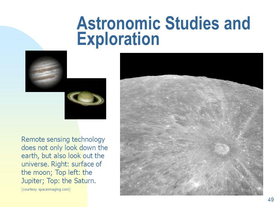 Astronomic Studies and Exploration