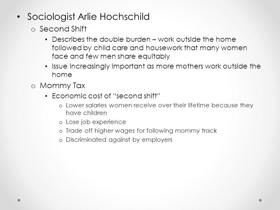 Sociologist Arlie Hochschild