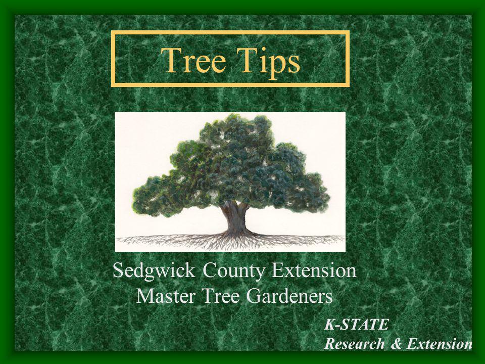 Sedgwick County Extension Master Tree Gardeners
