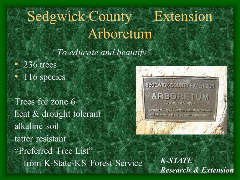 Sedgwick County Extension Arboretum