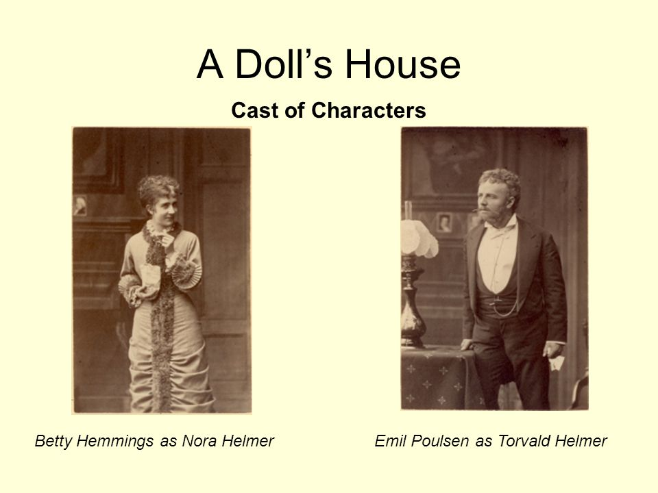 a dolls house nora essay Free essay: in 1879, henrik ibsen published the play a dolls house however, to much of his displeasure the portrayal of the third act was considered.