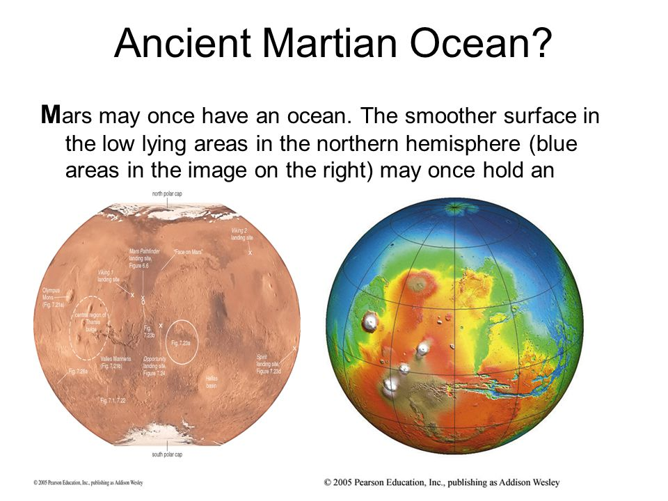 Ancient Martian Ocean