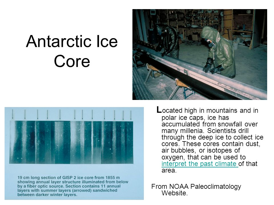 Antarctic Ice Core