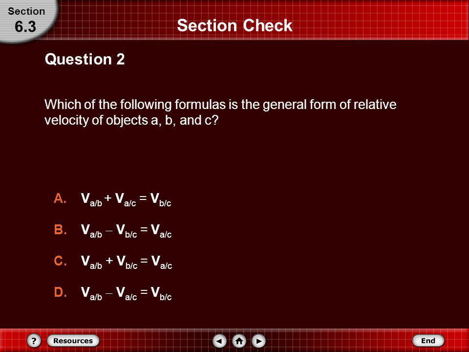 Section Check 6.3 Question 2