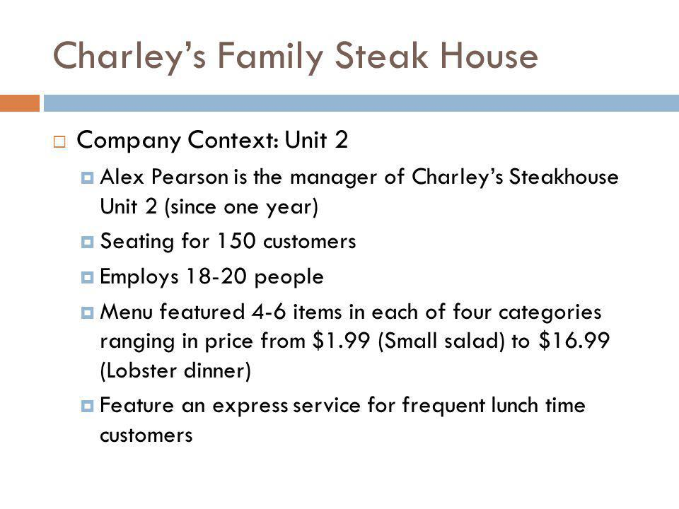 Charley's Family Steak House