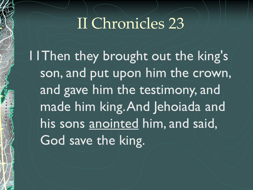 II Chronicles 23