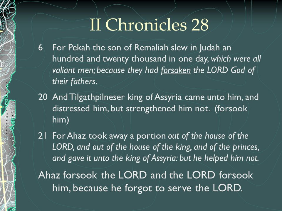 II Chronicles 28