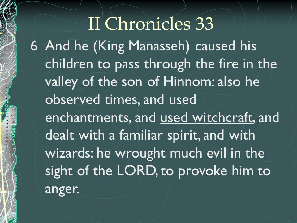 II Chronicles 33