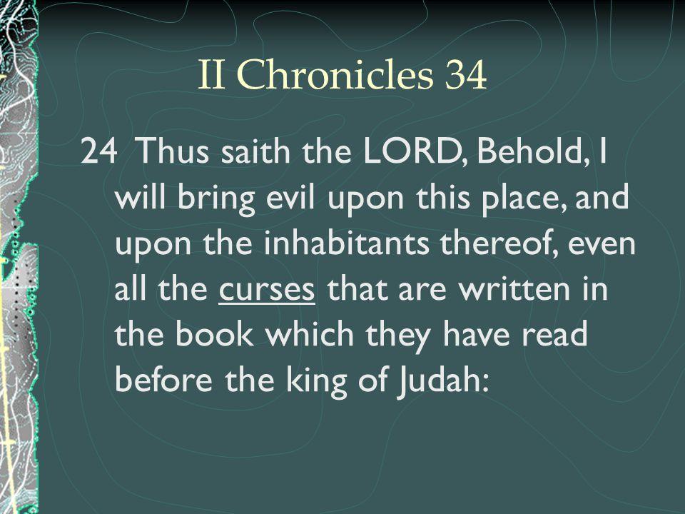 II Chronicles 34