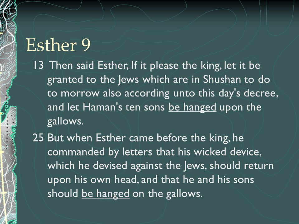 Esther 9