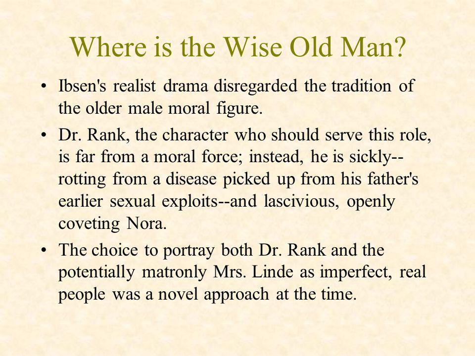 Where is the Wise Old Man