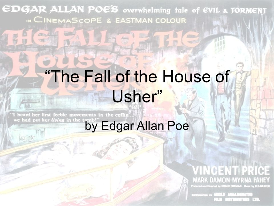 essay fall house usher Sample of 'the fall of the house of usher' essay (you can also order custom written 'the fall of the house of usher' essay.