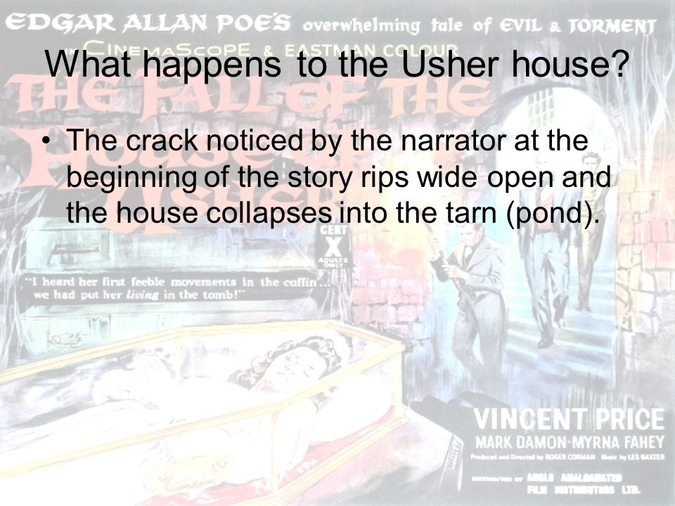 What happens to the Usher house