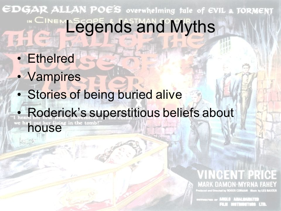 Legends and Myths Ethelred Vampires Stories of being buried alive