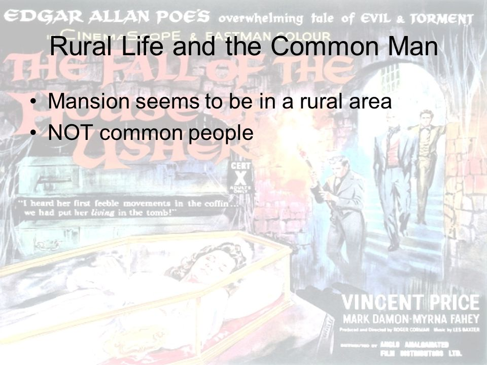 Rural Life and the Common Man