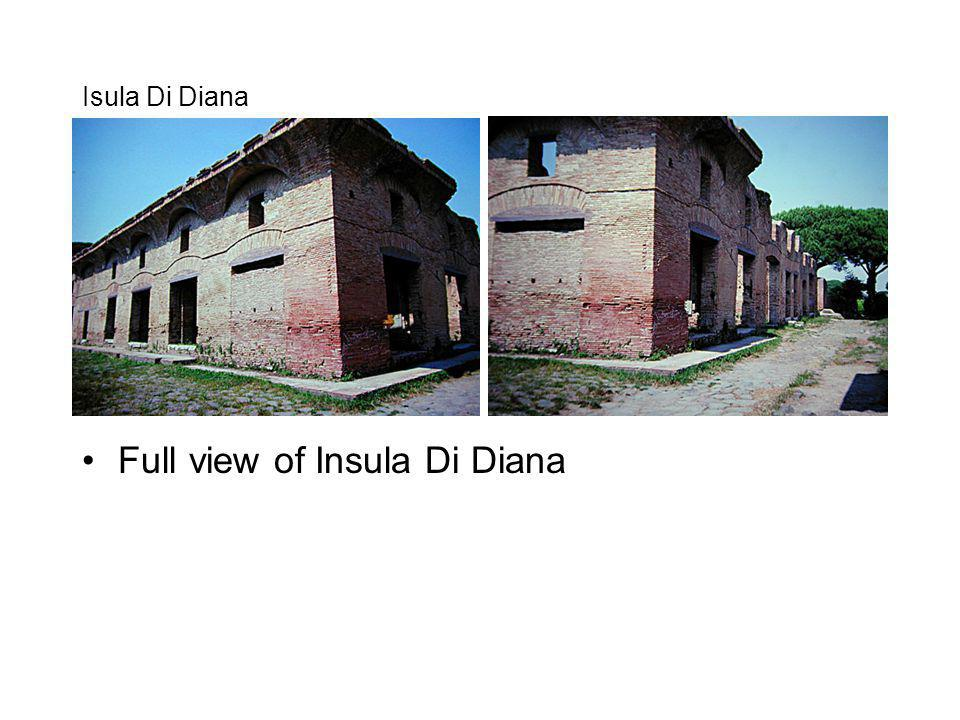 Full view of Insula Di Diana