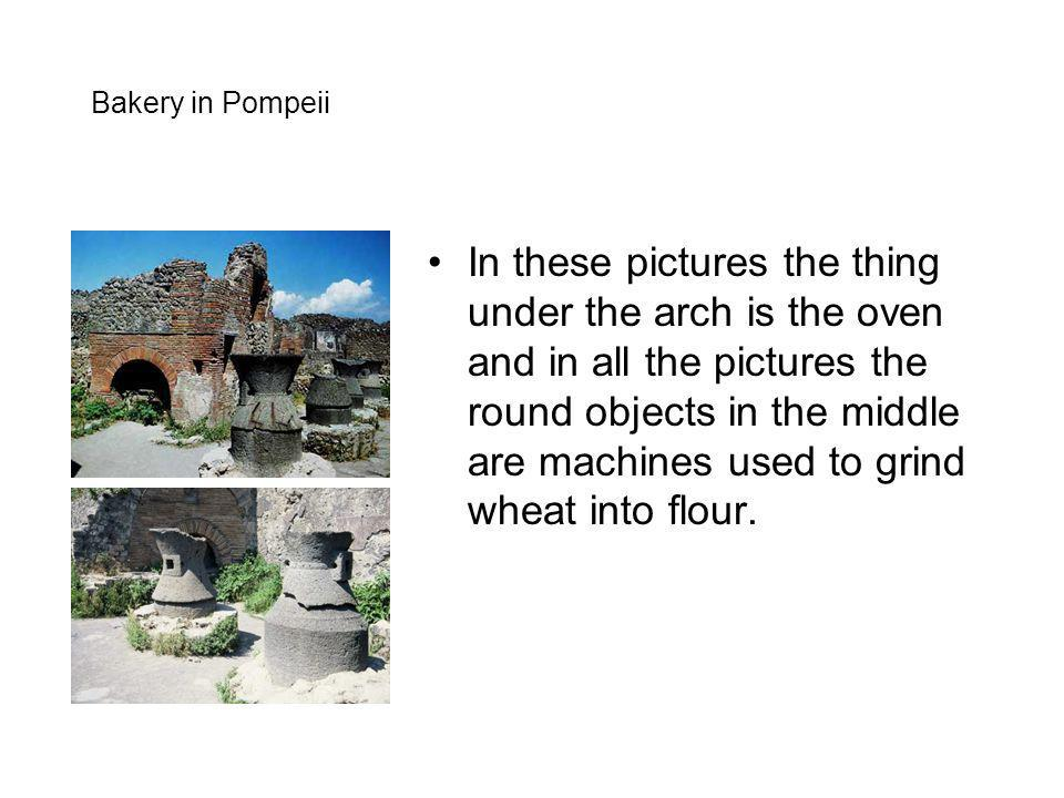 Bakery in Pompeii